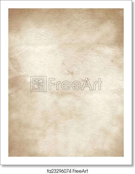 free art print of old parchment paper texture freeart fa23296074