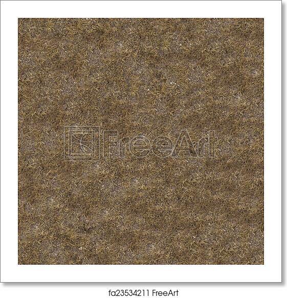 Free art print of Dried Grass  Seamless Tileable Texture