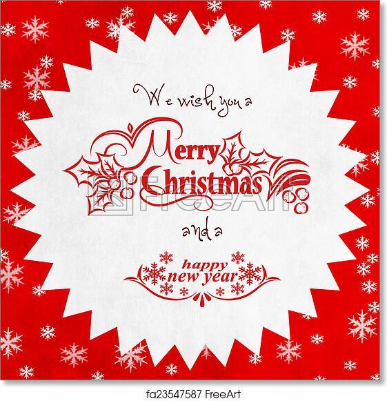 Free art print of merry christmas season greetings quote freeart free art print of merry christmas season greetings quote m4hsunfo