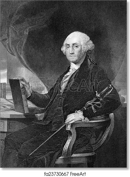 picture about Printable Pictures of George Washington named Absolutely free artwork print of George Washington