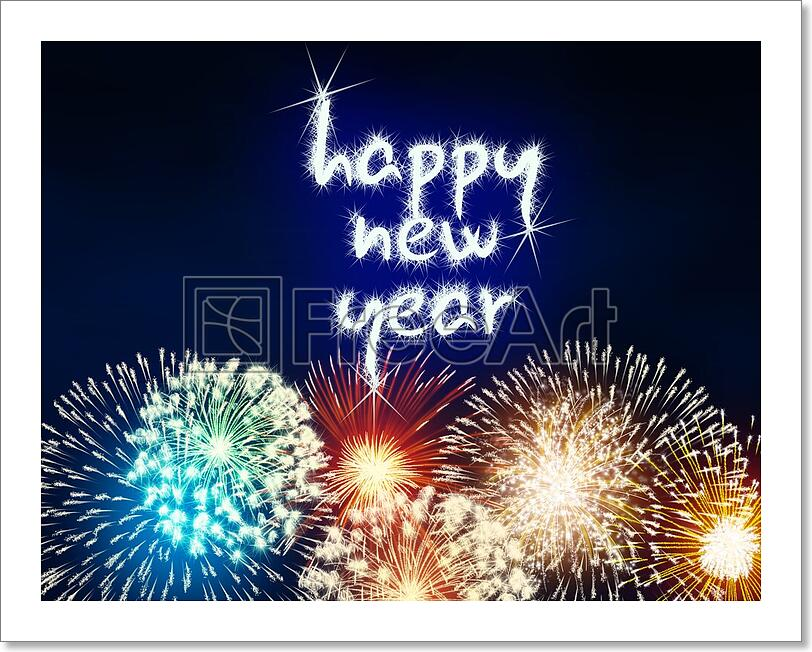 Happy New Year Fireworks 78