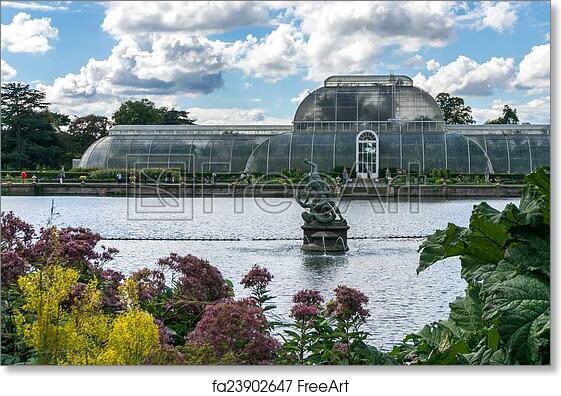 Free Art Print Of The Palm House At Kew Gardens