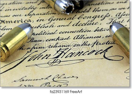 photograph regarding Bill of Rights Printables referred to as Free of charge artwork print of Bullets upon Monthly bill of Legal rights