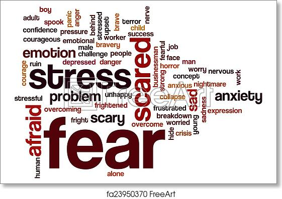 word for fear of people