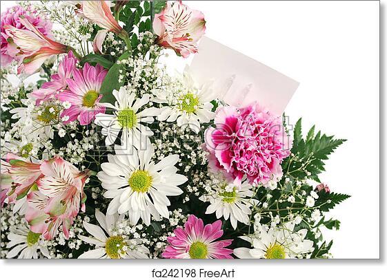 Free Art Print Of Flower Border Horizontal A Border Of Spring