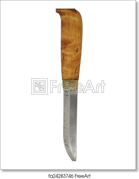 Free art print of Traditional Finnish knife puukko