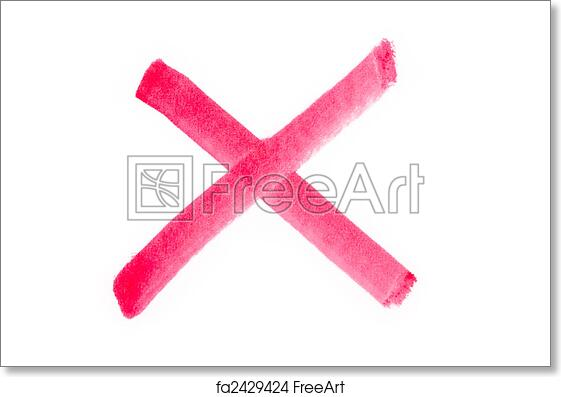Free art print of Red Check Mark