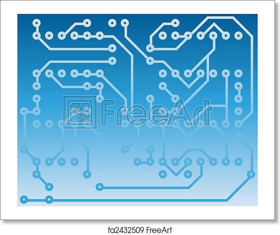 Free art print of Electrical scheme. Electric scheme for design use ...