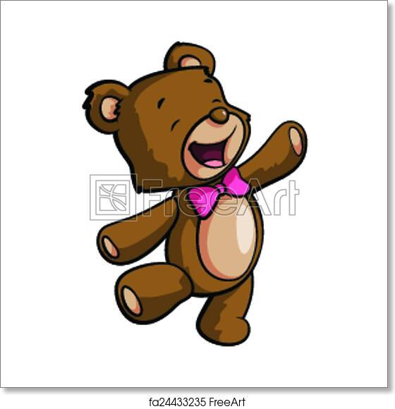 Teddy Bear Silhouette  Free vector silhouettes