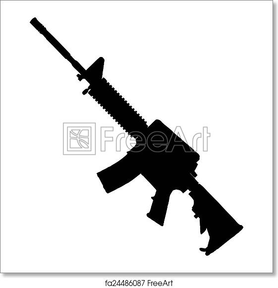 Free art print of Bushmaster rifle