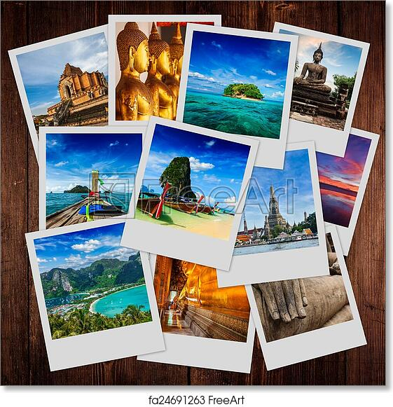 Free Art Print Of Collage Thailand Images