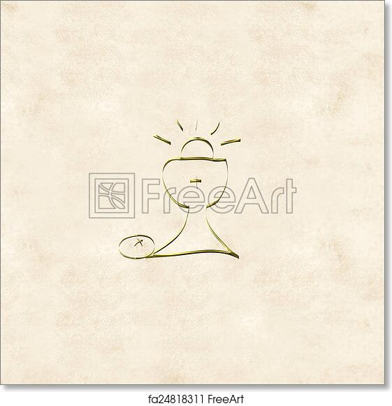 image relating to First Communion Cards Printable titled Free of charge artwork print of Initially Holy Communion invites playing cards