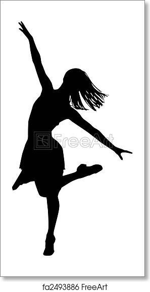 Free Art Print Of Dancer Silhouette Freeart Fa2493886