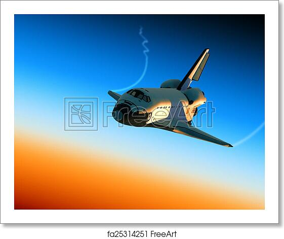 Free art print of Space Shuttle Landing