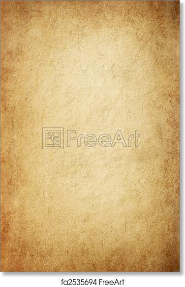 Free Art Print Of Antique Yellowish Parchment