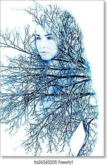Free art print of Mother nature in the winter
