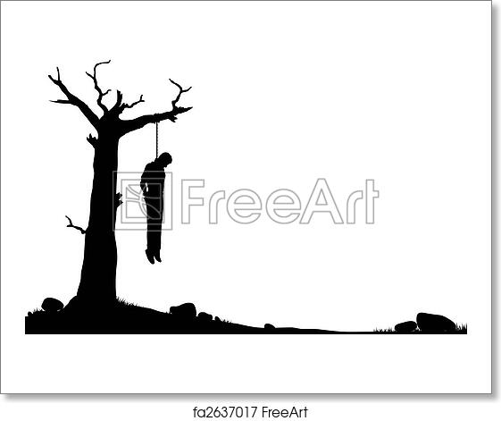Hanged Silhouette