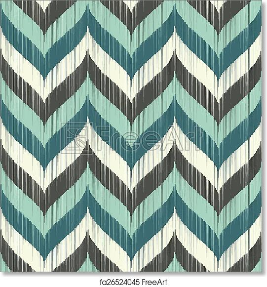 image regarding Free Printable Chevron Pattern named Free of charge artwork print of Seamless braid chevron routine