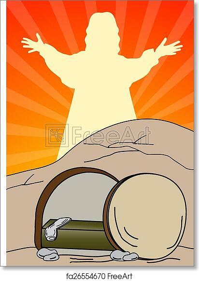 Free Art Print Of Empty Tomb Jesus Is Risen