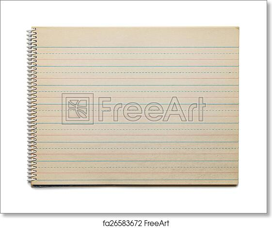 Free art print of Antique Dotted Line Paper