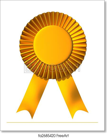 First Place Winner Badge Stock Vector Ilration Of Incentive 39006047