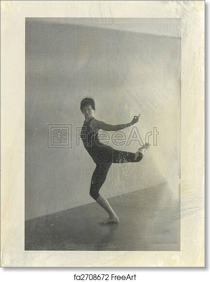 Free Art Print Of Yoga Natarajasana In Motion Woman In Yoga Pose