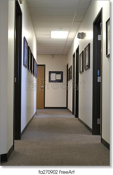 office hallway. Free Art Print Of Office Hallway Office Hallway