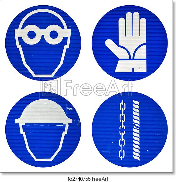 picture regarding Free Printable Safety Signs named Free of charge artwork print of Security symptoms