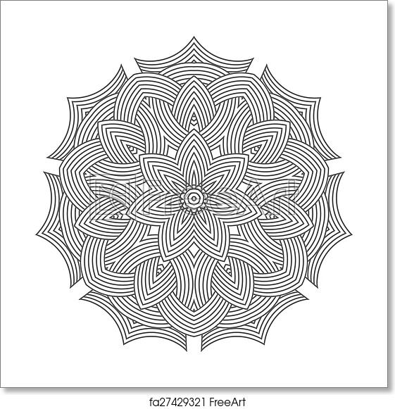 Free Art Print Of Celtic Knot Pattern Card Mandala Amulet Celtic Knot Doily Round Lace Floral Pattern Card Circle Mandala Amulet Freeart Fa27429321