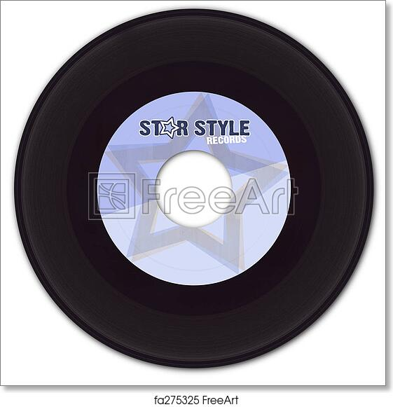 image relating to Printable Vinyl Record Labels called Cost-free artwork print of 45rpm Vinyl Background with Bogus Label