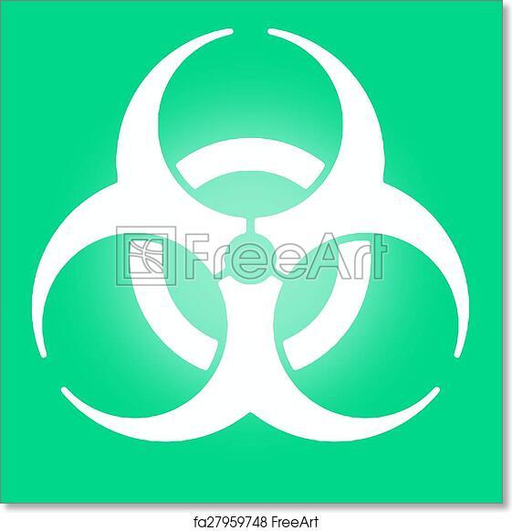 Free Art Print Of Biohazard Symbol Freeart Fa27959748