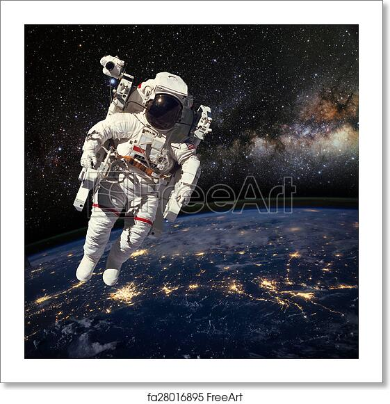 astronaut outer space appears - photo #3