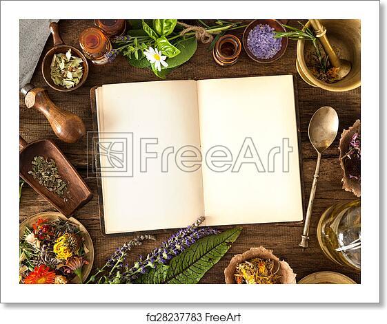 Free art print of Natural medicine