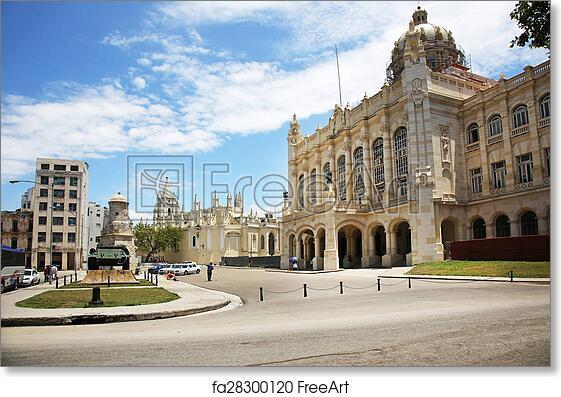 Museo De La Revolucion.Free Art Print Of Museo De La Revolucion Havana Cuba The Revolution