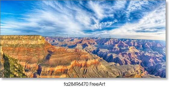 Grand Canyon Canvas Wrap