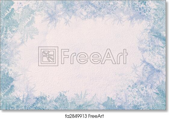 Free art print of Winter frame. Winter frame. Consists of the ...