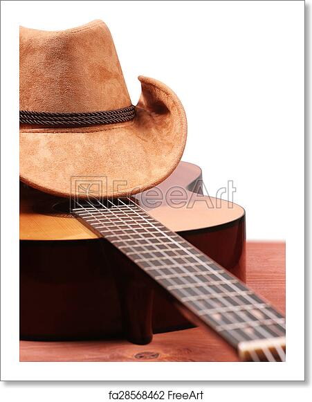 Free art print of American Country music