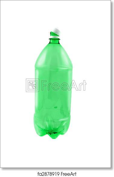Free art print of Empty pop bottle