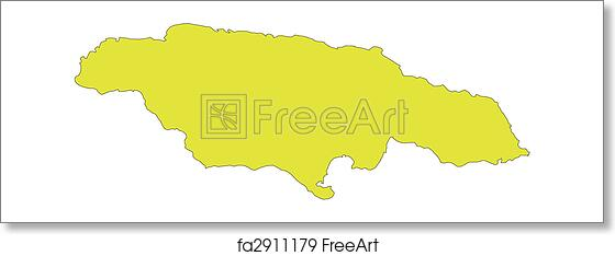 Free art print of Jamaica, Island, Caribbean Sea
