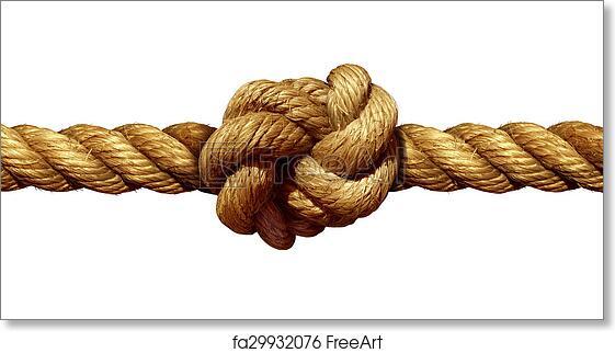 Free art print of Rope Knot