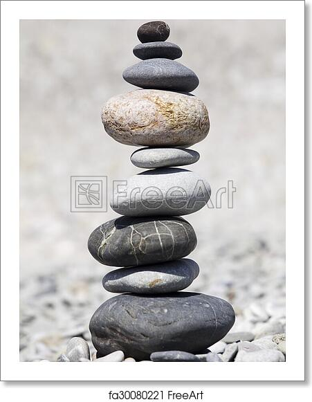 Free Art Print Of Rocks Stacked On The Beach A Pile Of Rocks