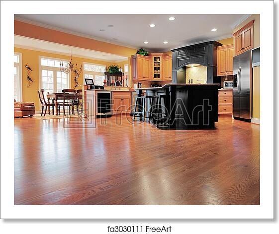 Free Art Print Of Home Interior With Wood Floor