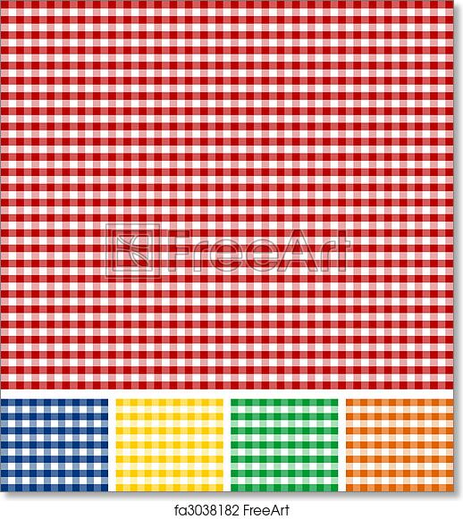 Free Art Print Of Picnic Tablecloth Texture