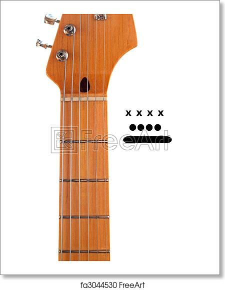 bass guitar string diagram free art print of blank guitar neck with chord markers a blank  free art print of blank guitar neck
