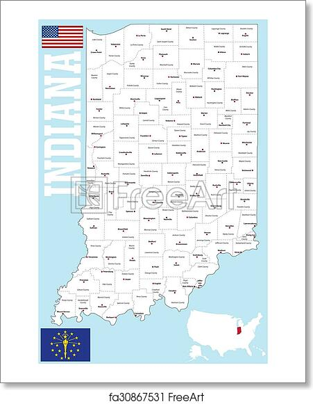 Free art print of Indiana county map Indiana State Map Printable Free on free printable missouri map, free printable idaho map, free printable oregon map, free printable kansas map, free printable michigan map, free printable navy map, free printable ohio map, free printable georgia map, free printable texas map, free printable illinois map, free printable washington map, free printable arkansas map, free printable tennessee map, free printable wisconsin map, free printable hawaii map, free printable maryland map, free printable nebraska map,