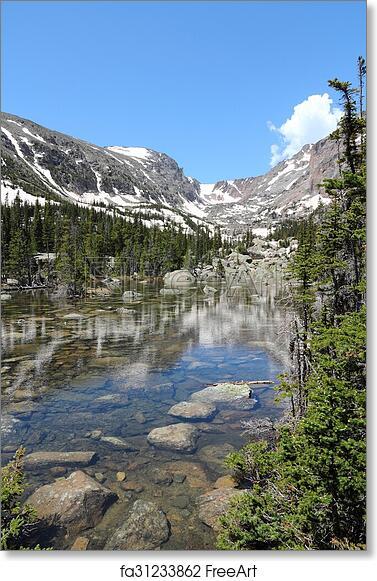 Free Art Print Of Rocky Mountains Colorado Rocky Mountain National