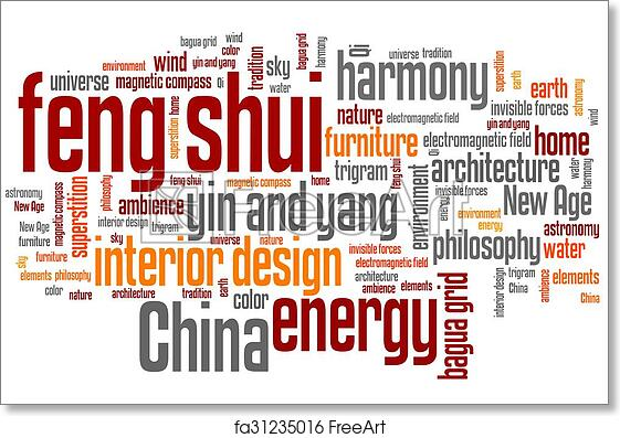 Collage Feng Shui Fire Earth Free Art Print Of Feng Shui Freeart Free Art Print Of Feng Shui Feng Shui Concepts Word Cloud