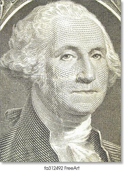 photograph regarding Printable Pictures of George Washington known as Cost-free artwork print of George Washington