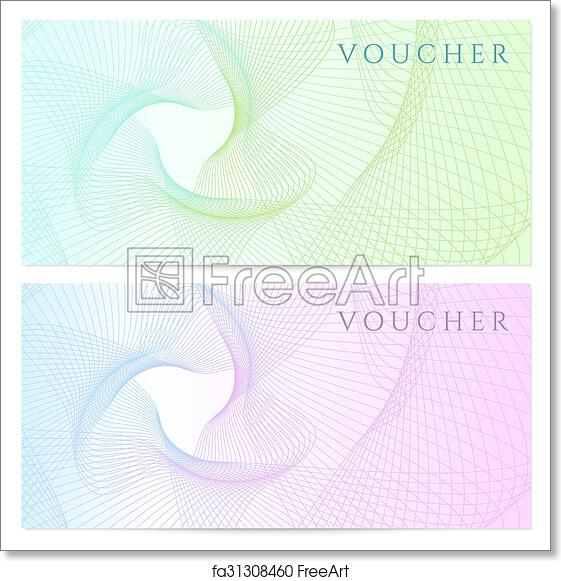 free art print of gift certificate voucher coupon