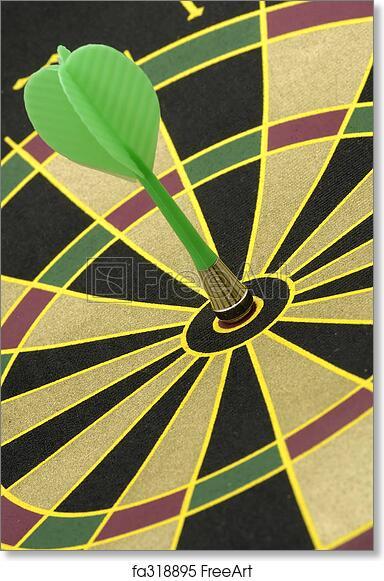 BULLSEYE DARTS LARGE ART PRINT POSTER LFGZ0035